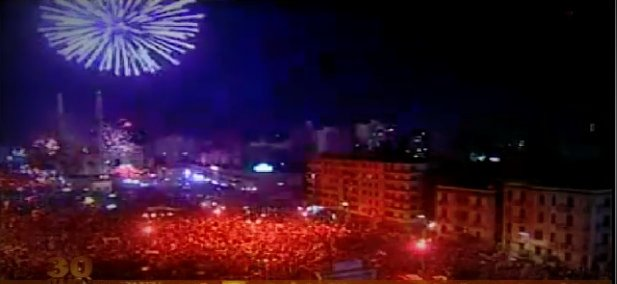 VICTORY celebration in Cairo for independence and triumph over the largest international terrorist organization in the world!